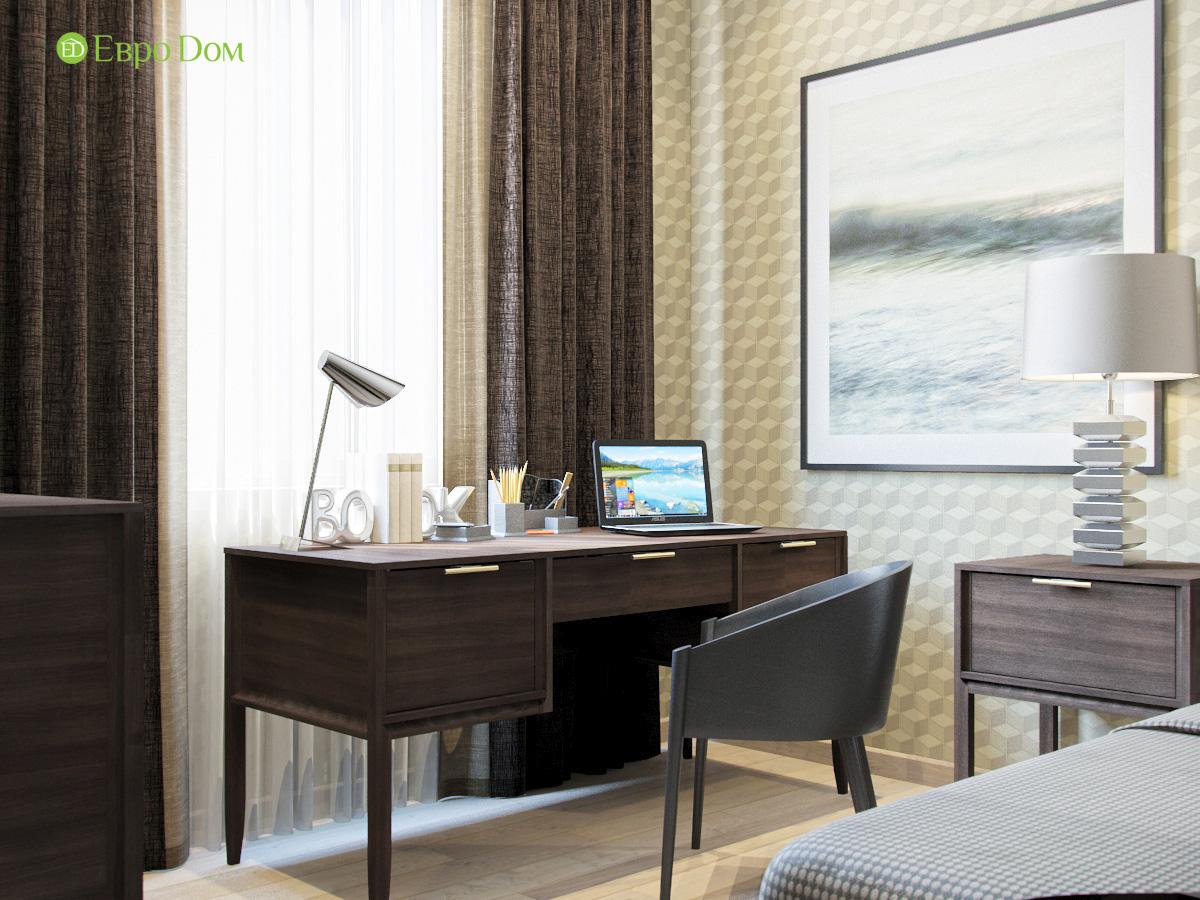 Дизайн трехкомнатной квартиры 95 кв. м в современном стиле. Фото 017