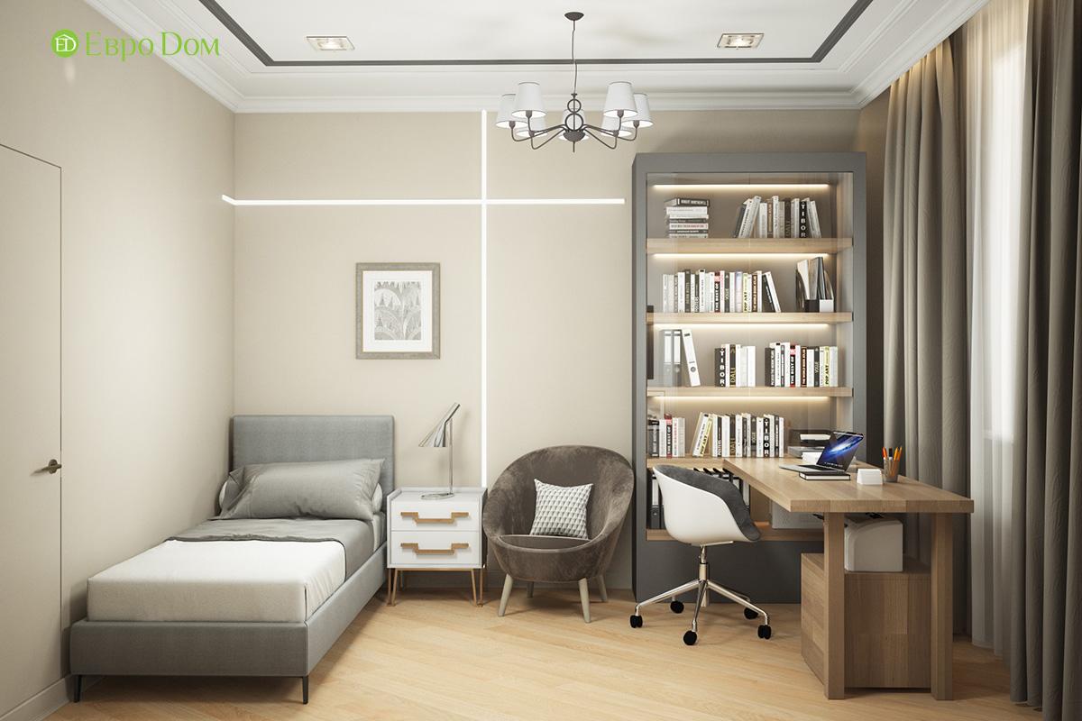 Дизайн трехкомнатной квартиры 82 кв. м в стиле неоклассика. Фото 012
