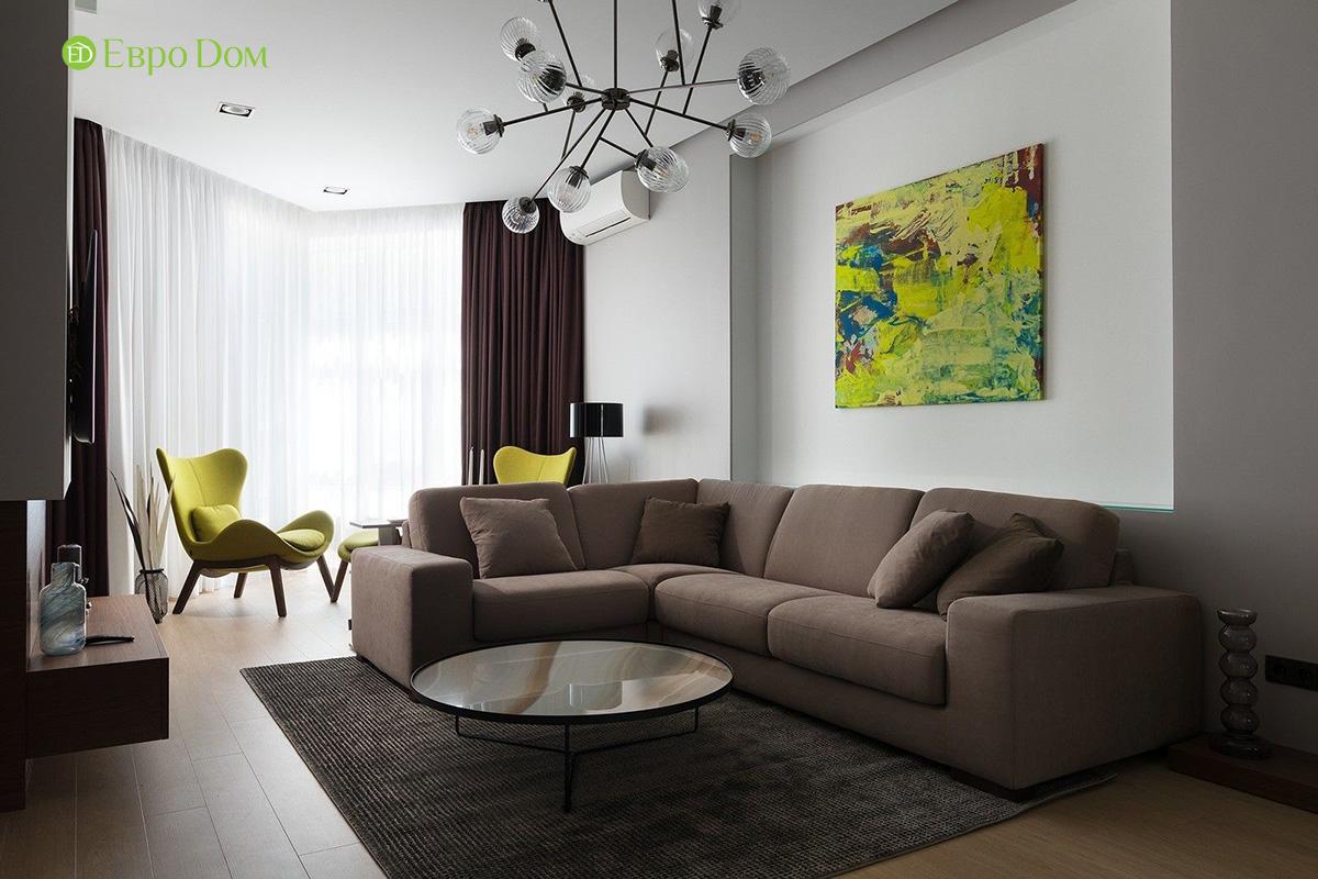 Ремонт и отделка 4-комнатной квартиры 103 м2 в современном стиле. Фото 08