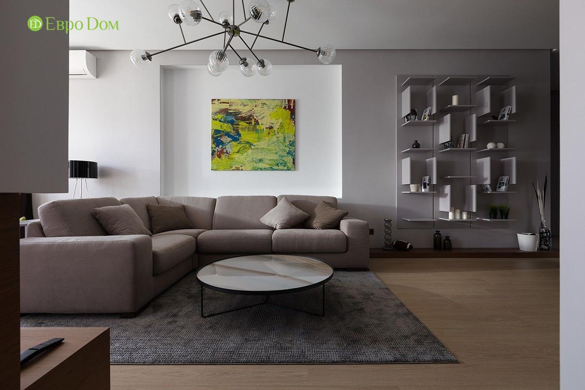 Ремонт и отделка 4-комнатной квартиры 103 м2 в современном стиле. Фото 09