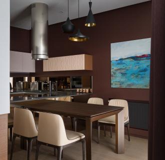 Ремонт четырехкомнатной квартиры 103 кв. м в современном стиле. Фото проекта