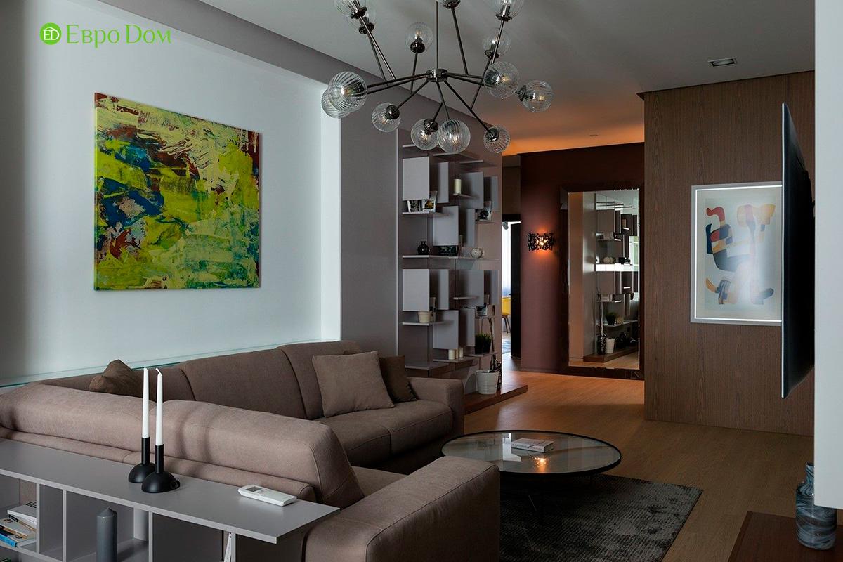 Ремонт и отделка 4-комнатной квартиры 103 м2 в современном стиле. Фото 011