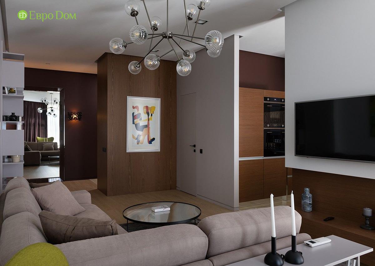 Ремонт и отделка 4-комнатной квартиры 103 м2 в современном стиле. Фото 012