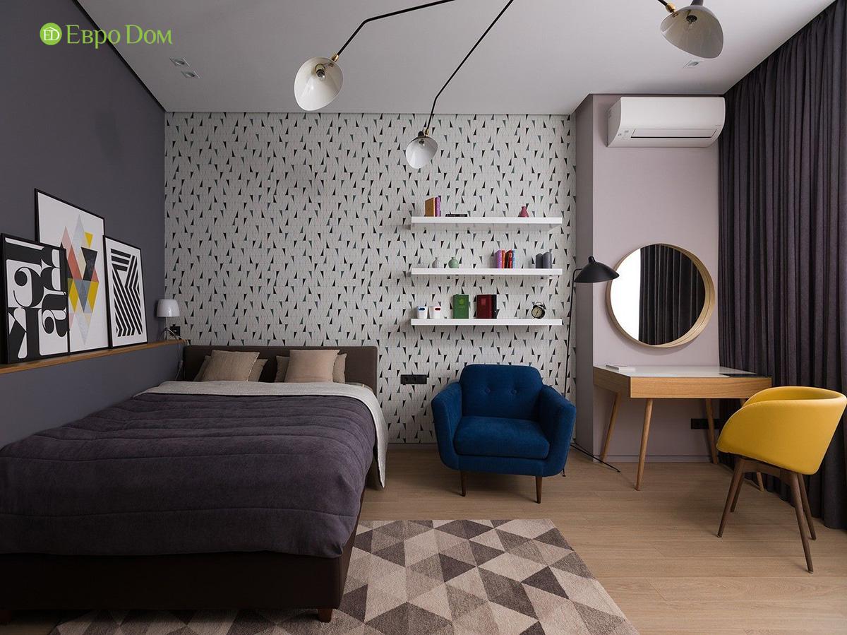 Ремонт и отделка 4-комнатной квартиры 103 м2 в современном стиле. Фото 018