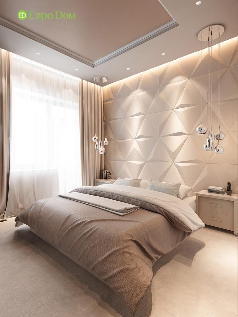 Дизайн интерьера трехкомнатной квартиры 86 кв. м в современном стиле. Фото 05
