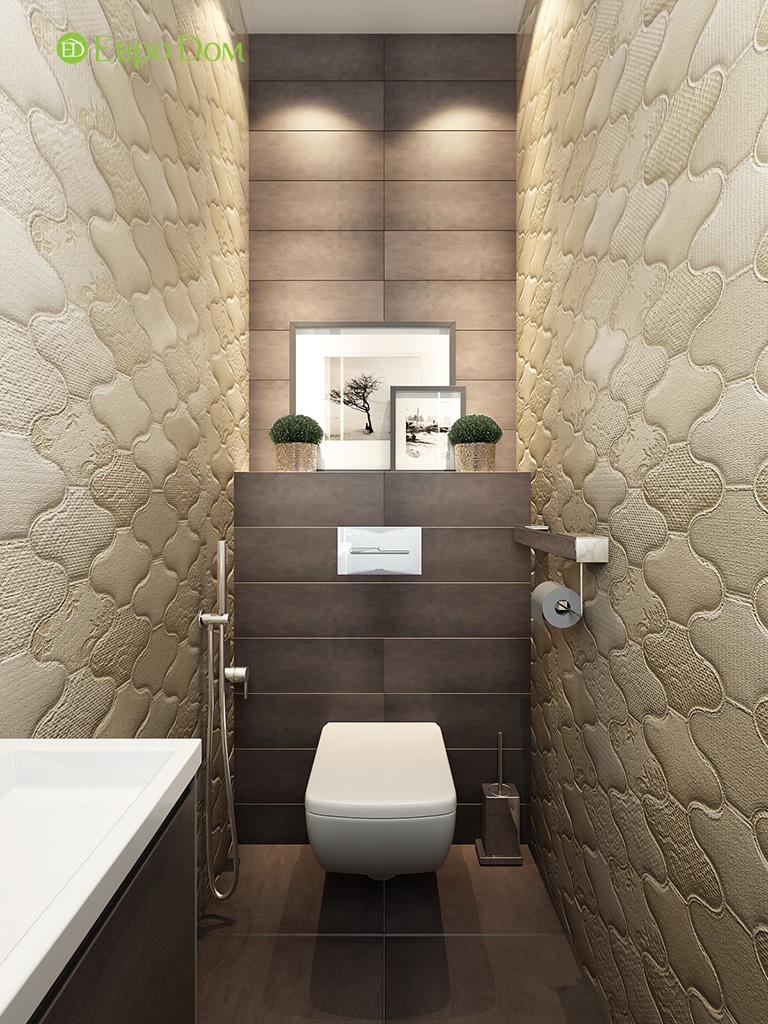 Дизайн интерьера трехкомнатной квартиры 86 кв. м в современном стиле. Фото 09