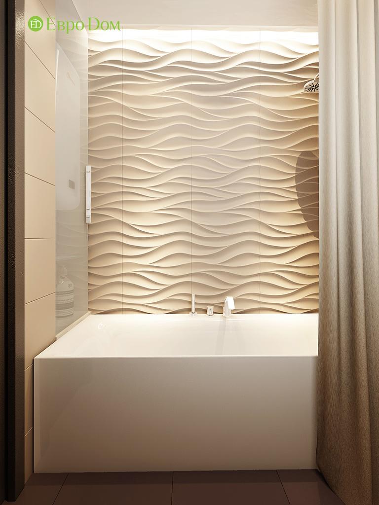 Дизайн интерьера трехкомнатной квартиры 86 кв. м в современном стиле. Фото 011