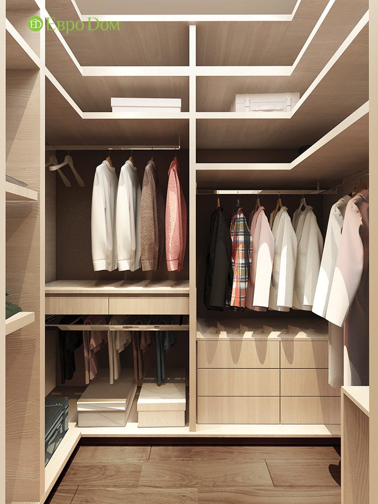 Дизайн интерьера трехкомнатной квартиры 86 кв. м в современном стиле. Фото 013