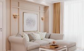 Дизайн интерьера трехкомнатной квартиры 83 кв.м. по адресу г. Москва, Солдатский пер., 10, ЖК Лефортово. Фото 1