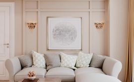 Дизайн интерьера трехкомнатной квартиры 83 кв.м. по адресу г. Москва, Солдатский пер., 10, ЖК Лефортово. Фото 2