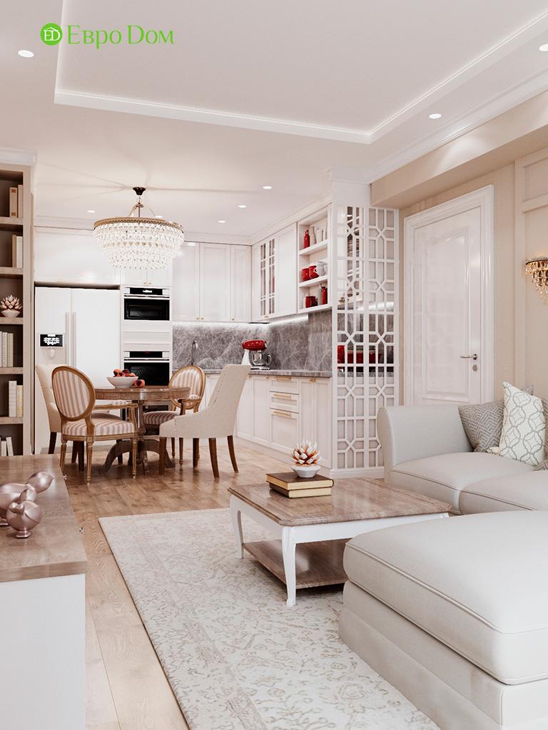 Дизайн квартиры в стиле неоклассика. Фото 04