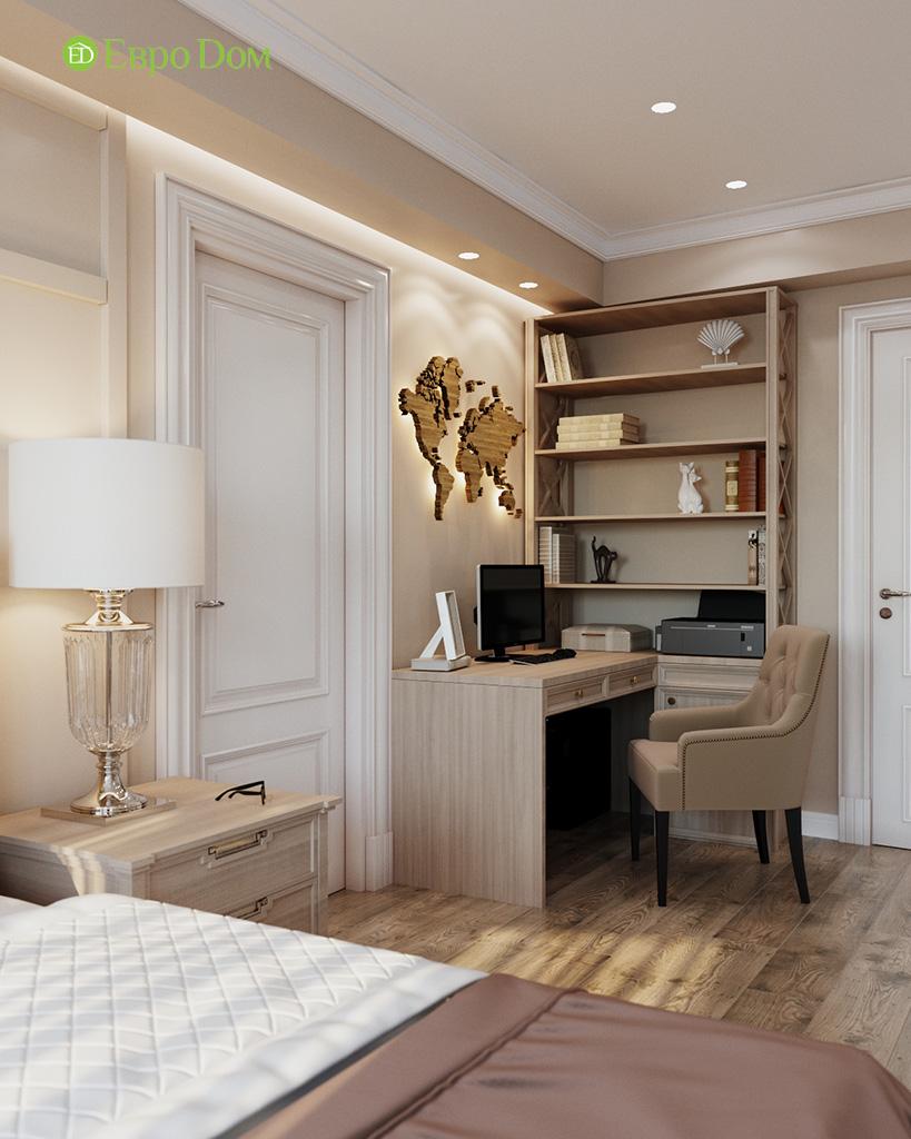 Дизайн квартиры в стиле неоклассика. Фото 032