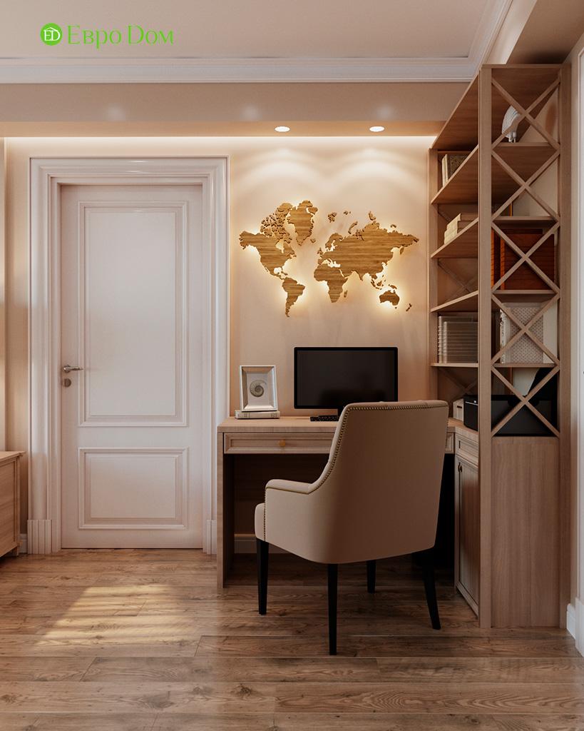 Дизайн квартиры в стиле неоклассика. Фото 033