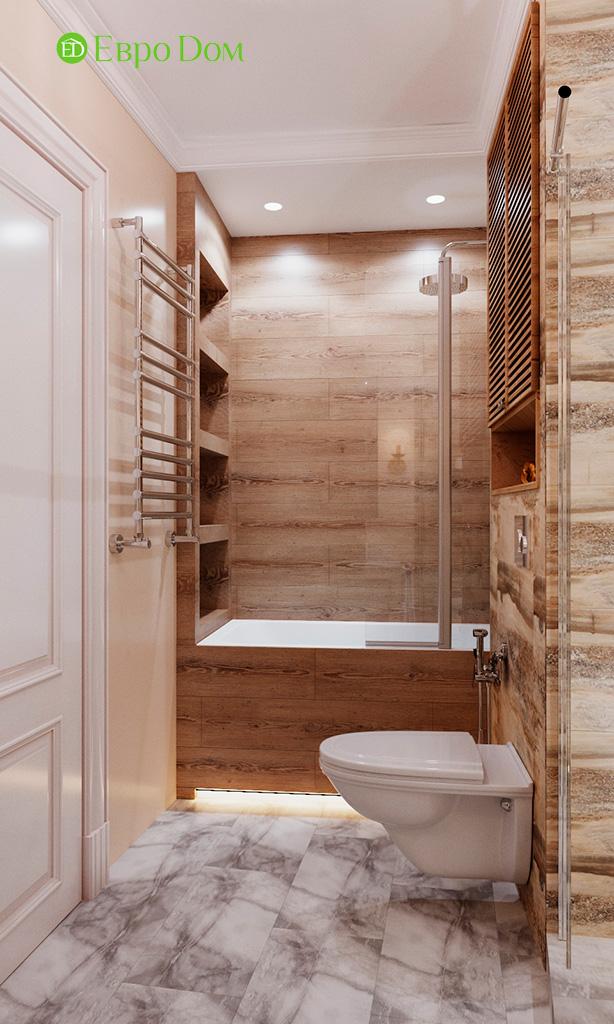 Дизайн квартиры в стиле неоклассика. Фото 041