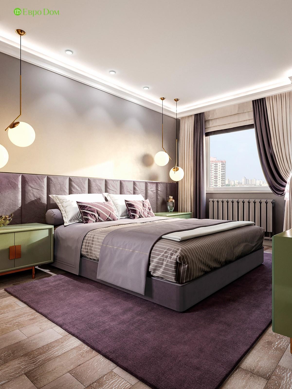 Проект спальни в 2-х комнатной квартире панельного дома