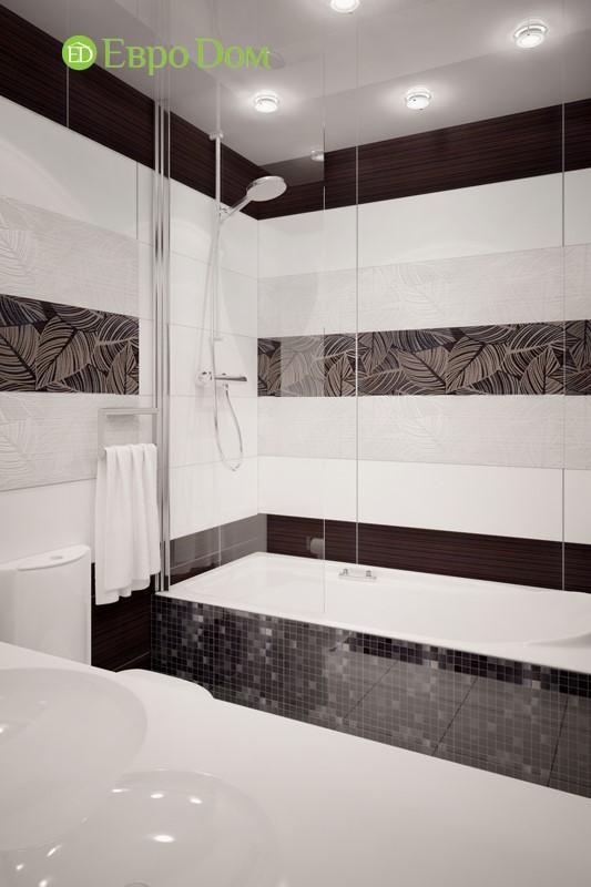 Дизайн-проект ванной в панельной двухкомнатной квартире 60 кв. м.