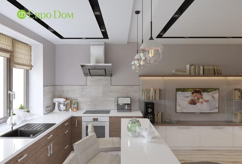 Оригинальный дизайн-проект 2-комнатной квартиры панельного дома в Железнодорожном