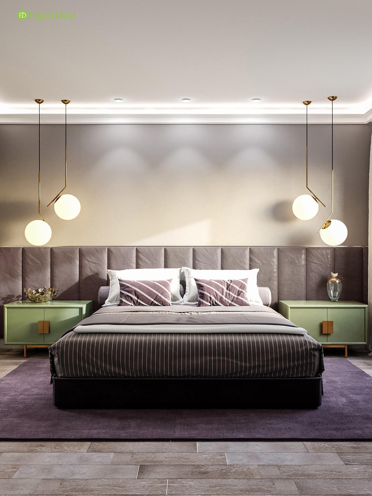Дизайн-проект панельной двухкомнатной квартиры 60 кв. м в современном стиле и 3D-визуализация