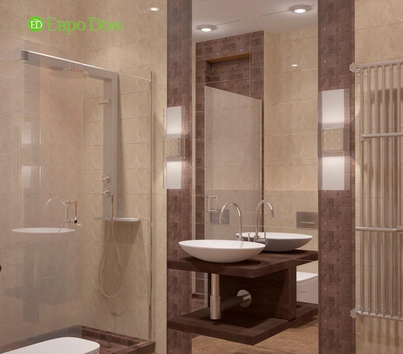 Дизайн-проект маленькой квартиры-студии 47 кв. м. в стиле лофт. Ванная комната