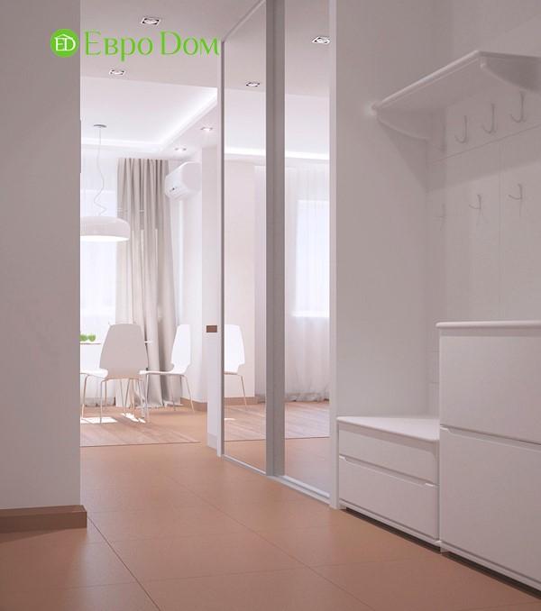 Дизайн-проект маленькой квартиры-студии 47 кв. м. в стиле лофт. Коридор