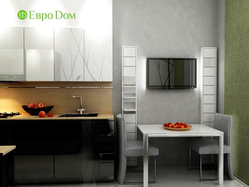 Дизайн маленькой квартиры-студии 43 кв. м. Столовая зона