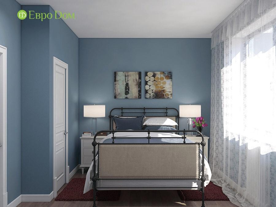Дизайн-проект ремонта двухкомнатной квартиры 70 кв. м в стиле прованс. Интерьер спальни