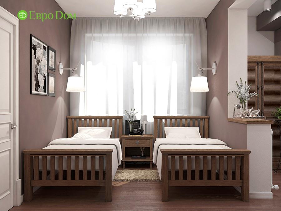 Дизайн-проект ремонта двухкомнатной квартиры 70 кв. м в стиле прованс. Детская комната
