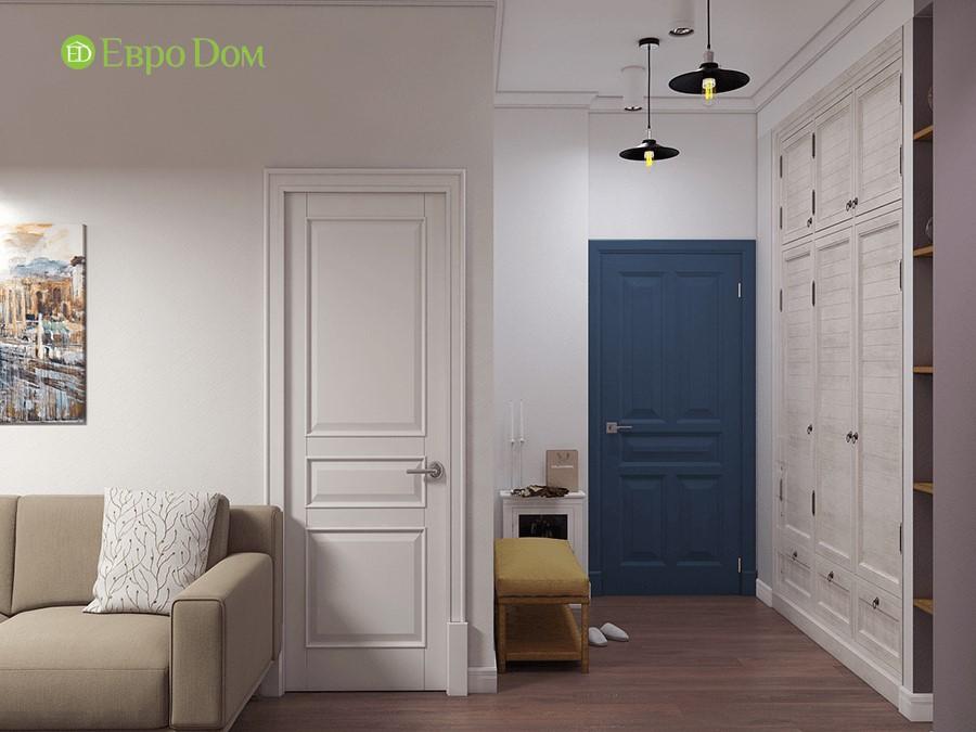 Дизайн-проект ремонта двухкомнатной квартиры 70 кв. м в стиле прованс. Входная зона