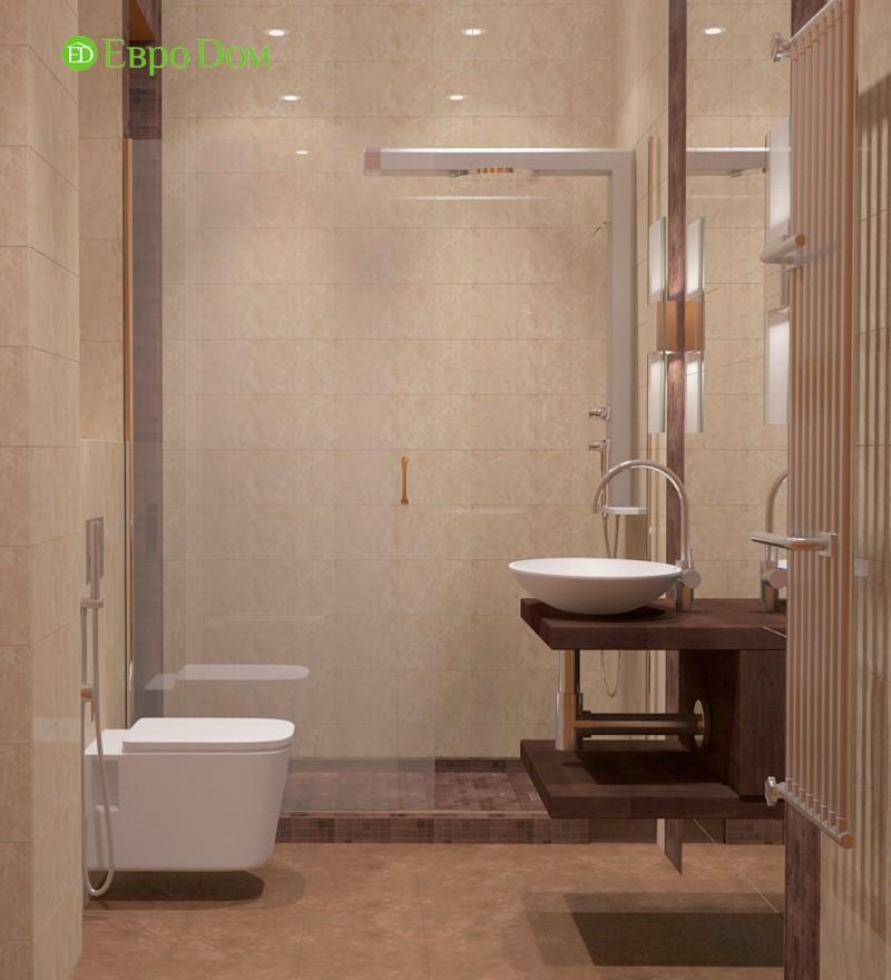 Дизайн санузла маленькой однокомнатной квартиры, - современно и недорого