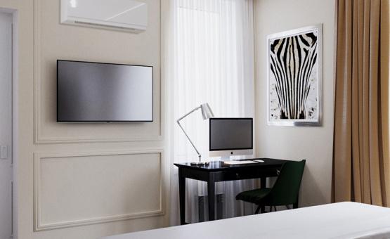 Дизайн интерьера квартиры в новостройке 68 кв.м. по адресу г. Красногорск, ул. Авангардная, д. 10, кв. 567. Фото 2