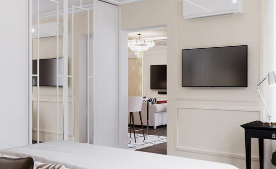 Дизайн интерьера квартиры в новостройке 68 кв.м. по адресу г. Красногорск, ул. Авангардная, д. 10, кв. 567. Фото 3