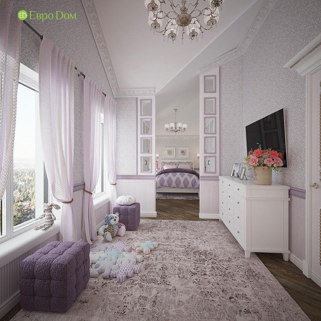 Интерьер детской комнаты в загородном доме