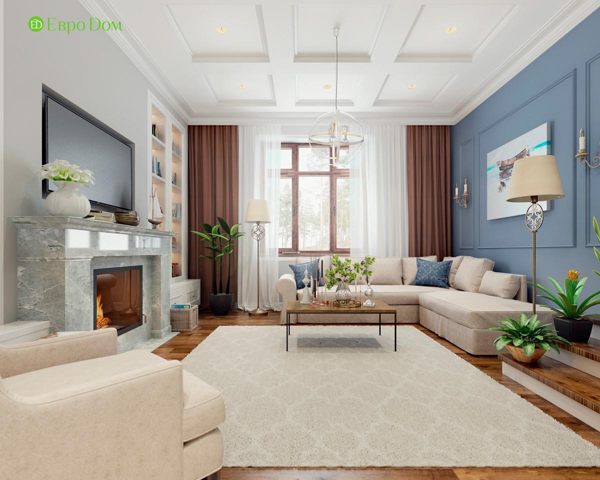 Дизайн частного дома в английском стиле внутри