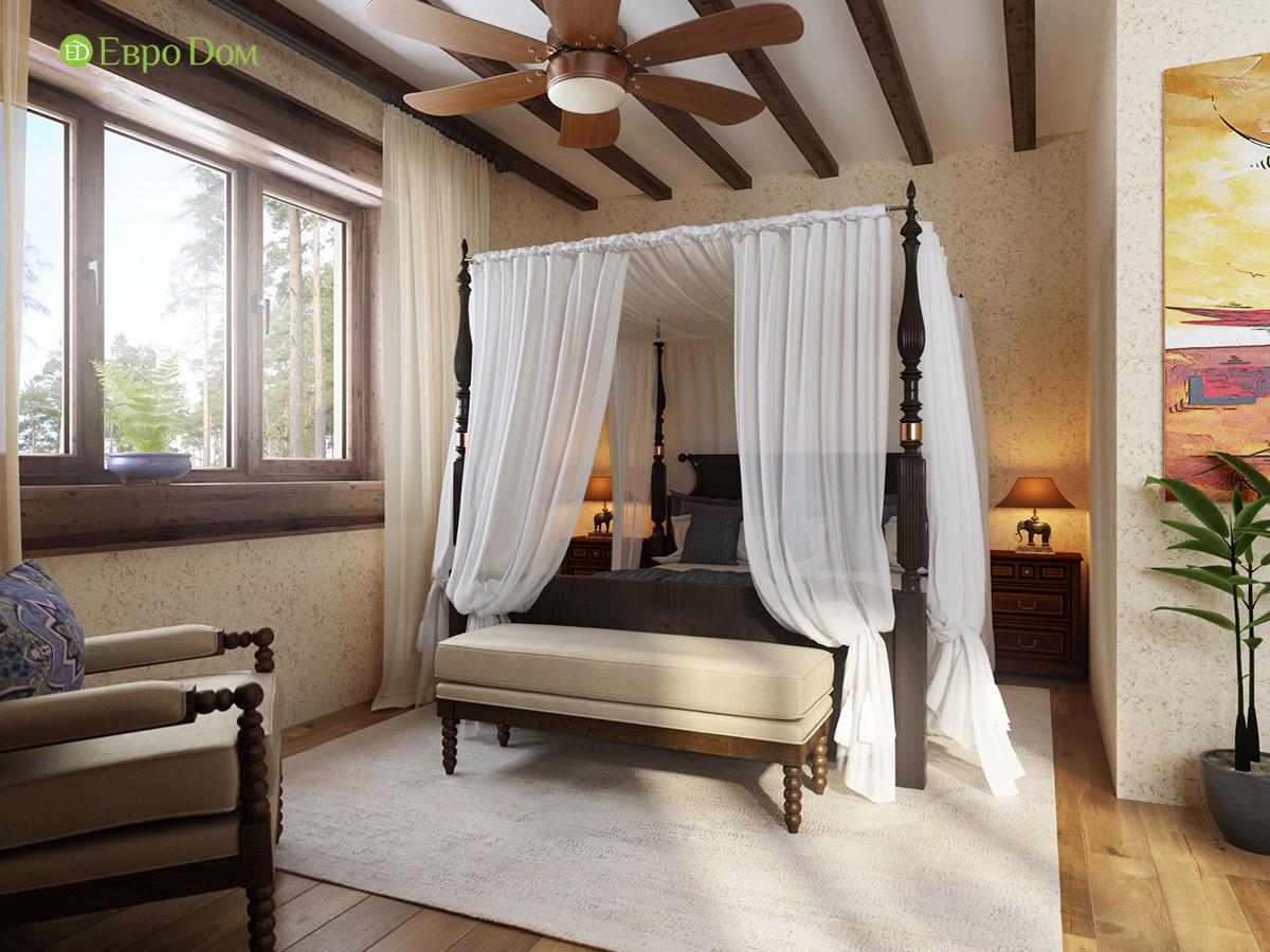 Гостевая комната в коттедже. Фото интерьера