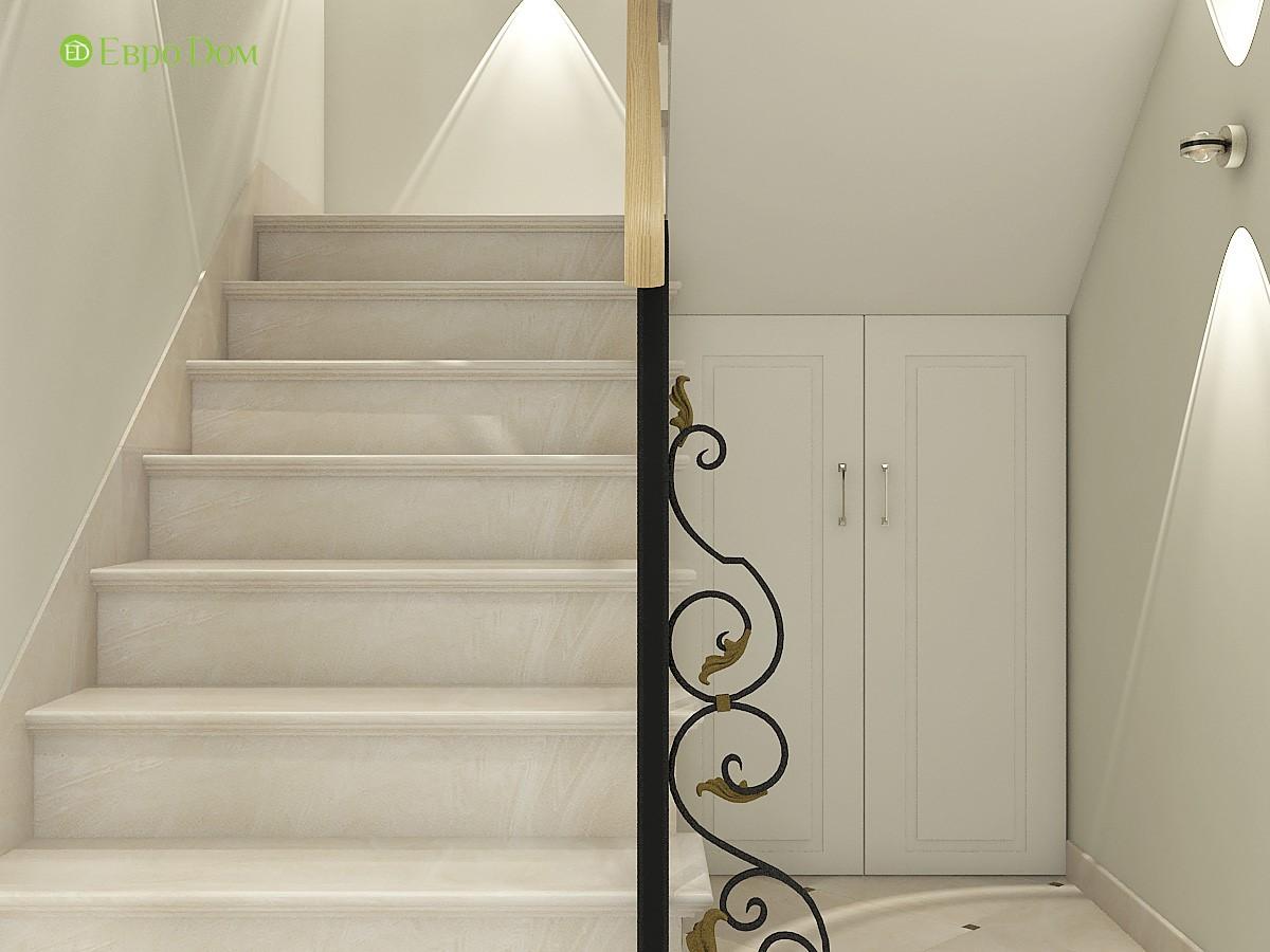 Дизайн интерьера лестницы в частном доме
