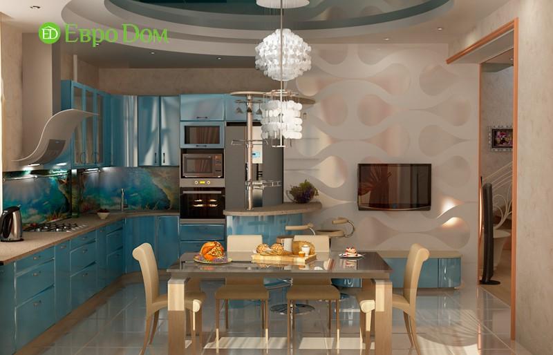 Дизайн частного дома внутри. Фото интерьер кухни