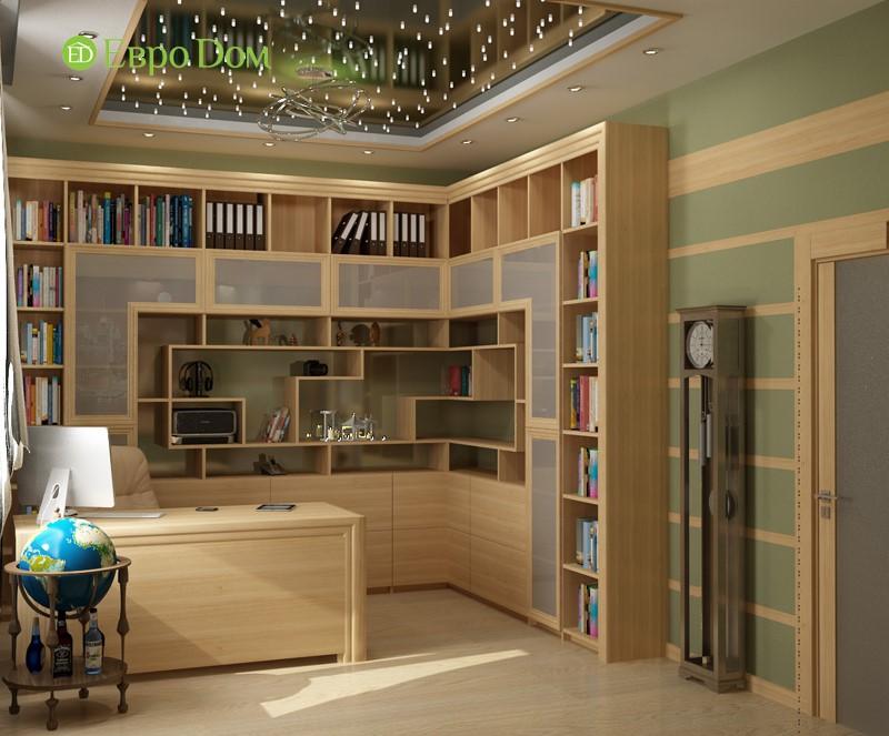 Дизайн кабинета частного дома эконом-класса