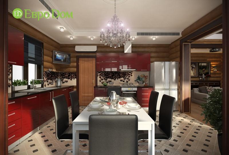 Дизайн столовой в стиле модерн. Фото интерьеров