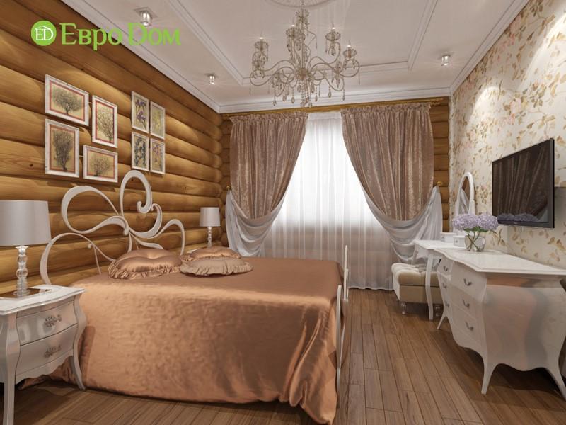 Интерьер спальни в частном доме. Фото внутри