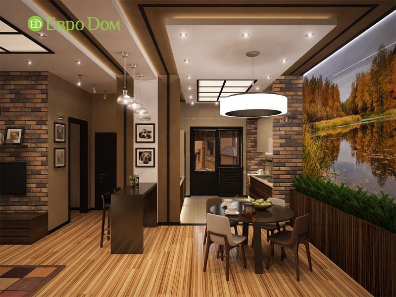 Дизайн домов и коттеджей внутри, фото кухни-гостиной
