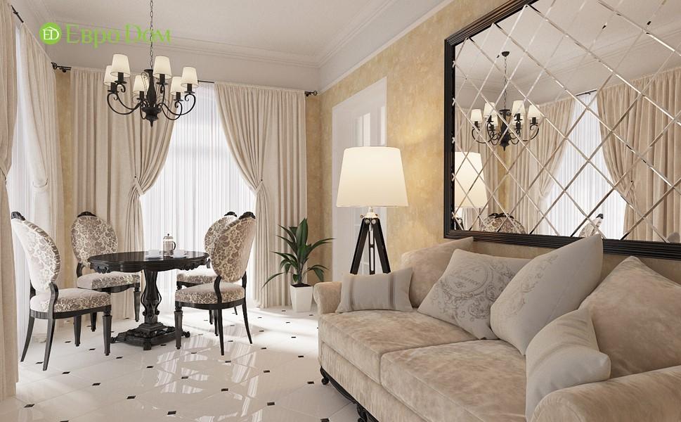 Дизайн коттеджа, фото внутри, красивый ремонт в классическом стиле