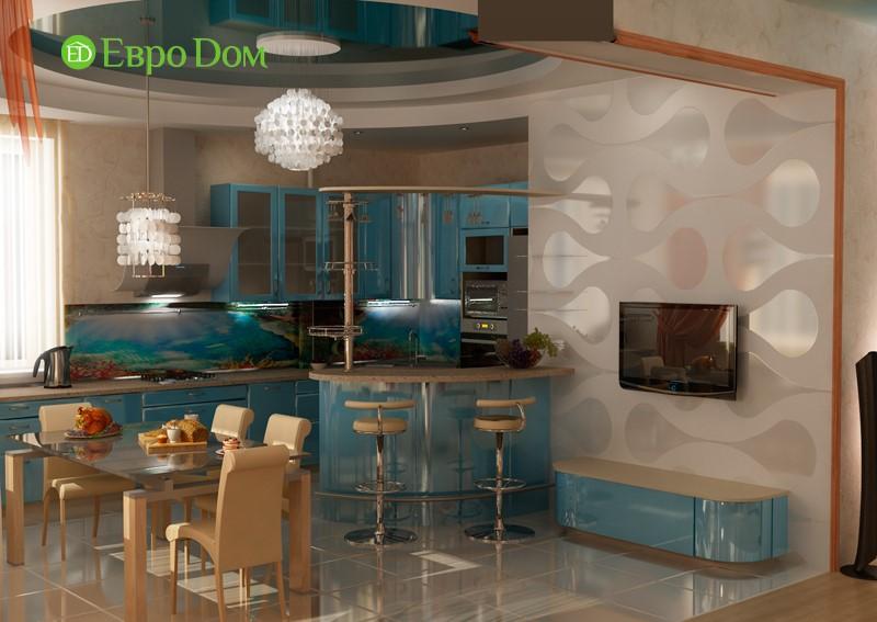 Дизайн коттеджей, фото внутри, красивый ремонт в столовой