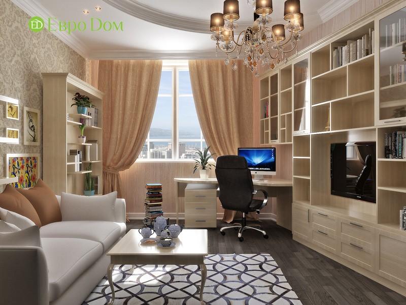 Дизайн кабинета внутри коттеджа фото