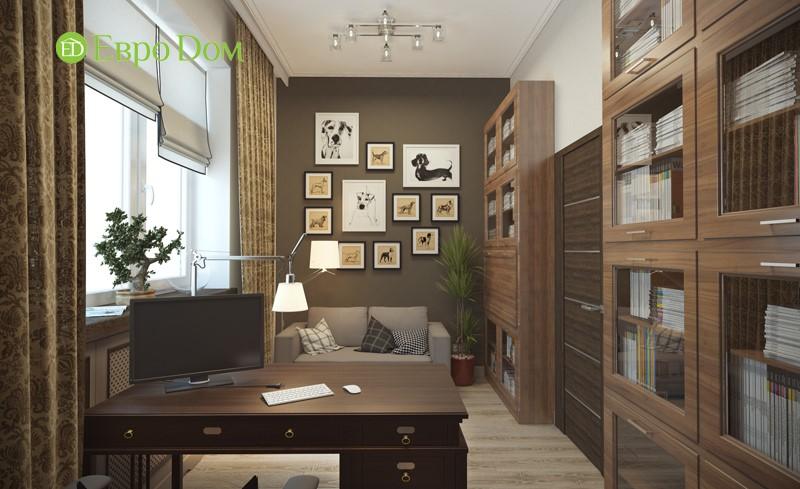 Дизайн домов и коттеджей внутри, фото кабинета