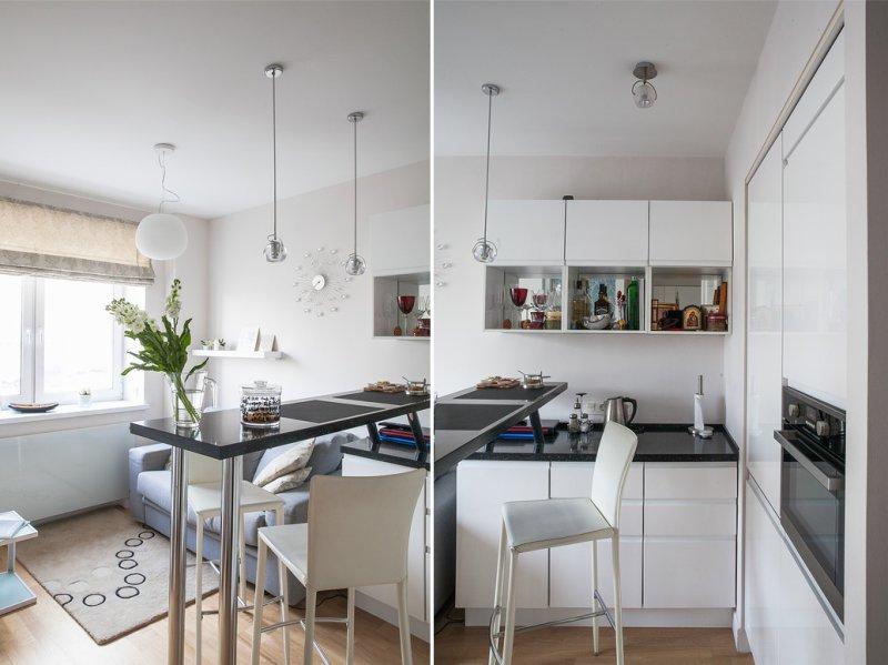 Дизайн интерьера однокомнатной квартиры в хрущевке