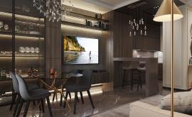 Дизайн интерьера 2-комнатной квартиры 64 кв.м. по адресу г. Москва, Серпуховский вал, д. 3. Фото 3