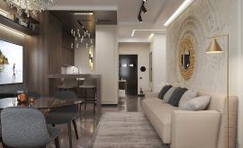 Дизайн интерьера 2-комнатной квартиры 64 кв.м. по адресу г. Москва, Серпуховский вал, д. 3. Фото 4