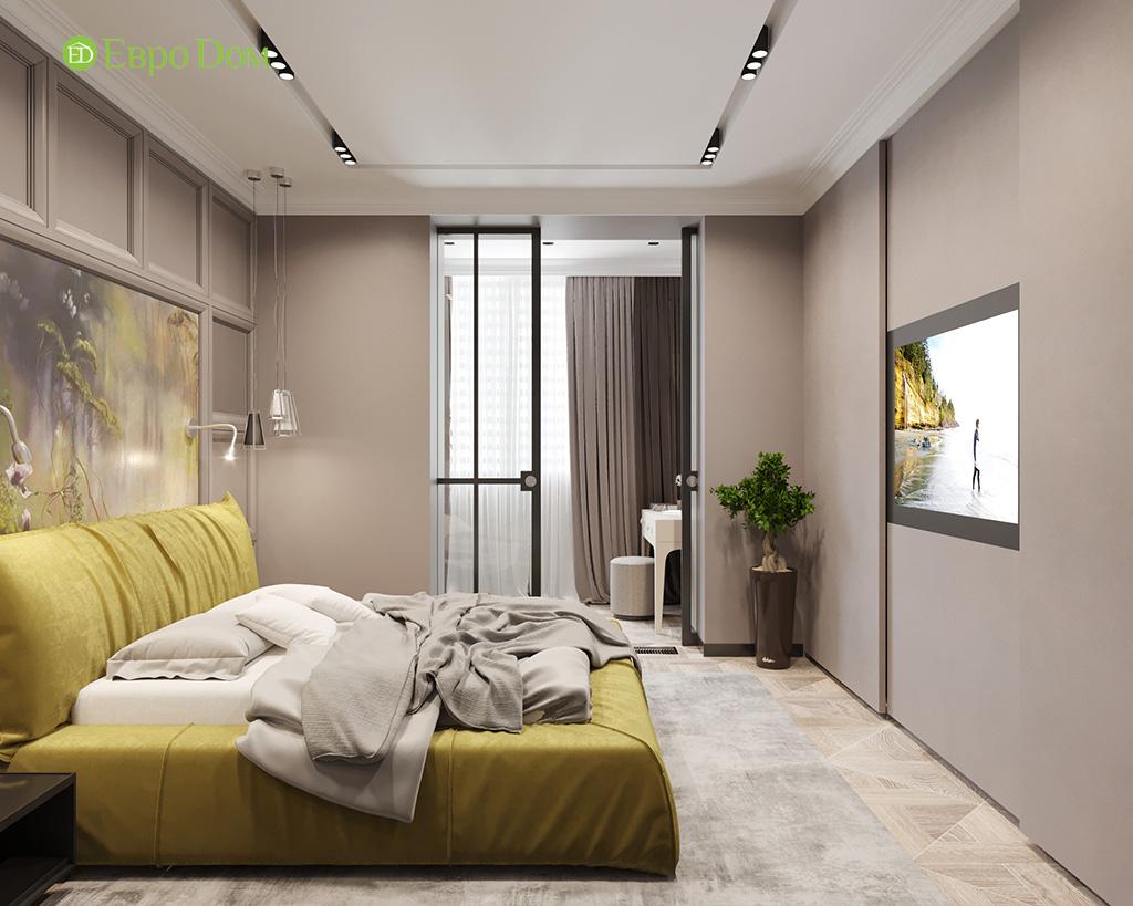 Дизайн 2-комнатной квартиры 64 кв. м в стиле ар-деко. Фото 011
