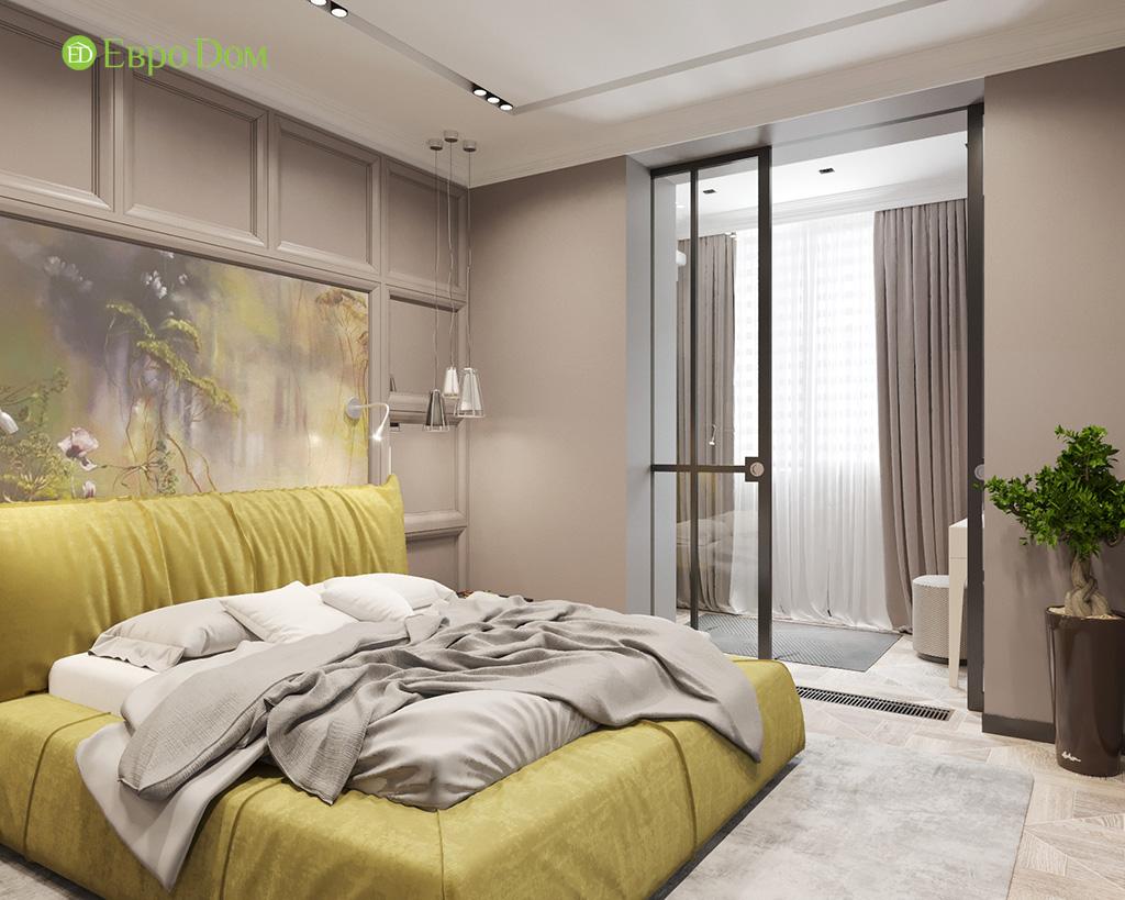 Дизайн 2-комнатной квартиры 64 кв. м в стиле ар-деко. Фото 014