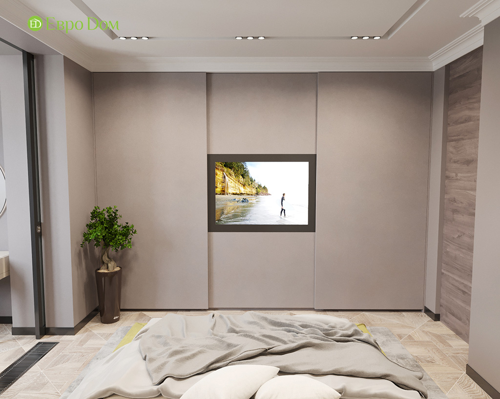 Дизайн 2-комнатной квартиры 64 кв. м в стиле ар-деко. Фото 015